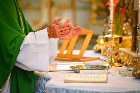 Pastor hands photo