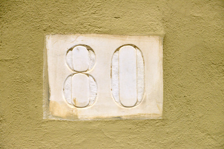 eighty: marble house number eighty