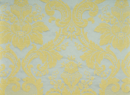 princely: Fabric with floral embroidery texture Stock Photo