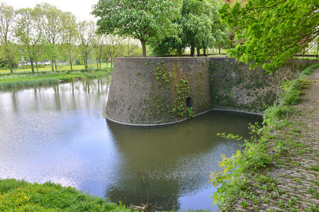 impregnable: fortress wall or the city