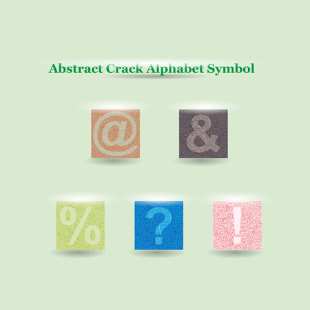 crack: Modern Vector Crack Alphabet. Crack Font. Symbols Crack Letters. Modern crack pattern Lettering. Crack Alphabet