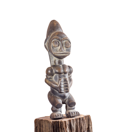 African ethnic wood carving from IGALA ethnic - NIGERIA