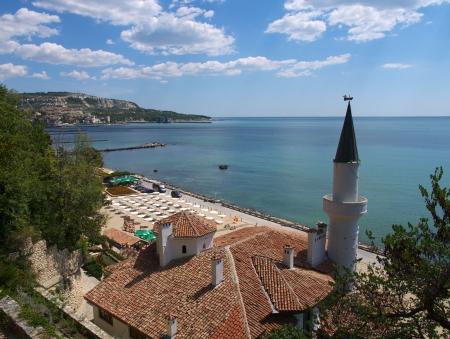 balchik: Balchik - Black Sea coastal town in northern Bulgaria. The Balchik Palace was the  summer residence of Queen Marie of Romania Editorial