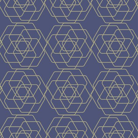 Geometric pattern tile which is seamless. A background texture pattern. Ilustracja