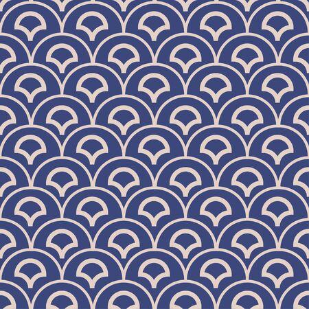 ethnic vector indigo dabu print seamless pattern tile. Ilustração