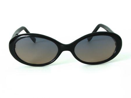 Isolated retro shades.