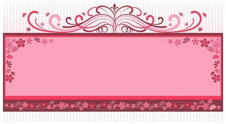 Marco rosado cosecha Foto de archivo - 12247319
