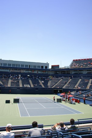 Tennis cup Standard-Bild