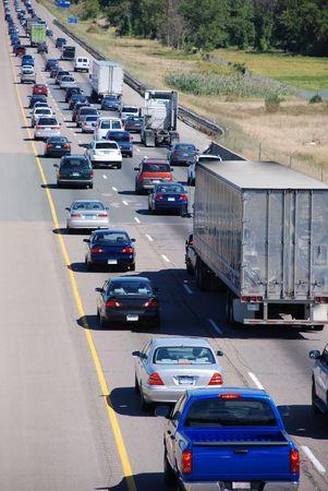 Traffic jam Standard-Bild