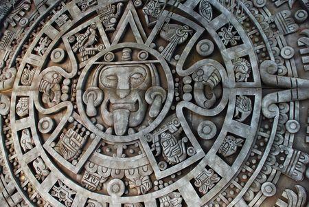 Calendario Maya  Foto de archivo - 2078792