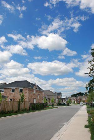 Typical neighborhood street Stock Photo - 3421030