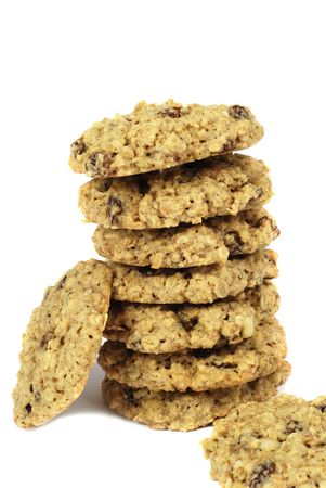 oatmeal: Oatmeal raisen cookies