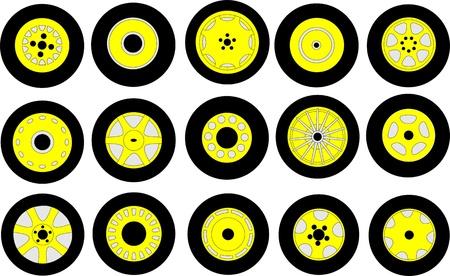 wheels Stock Photo - 21002383
