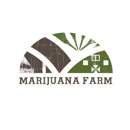 Cannabis farm icon