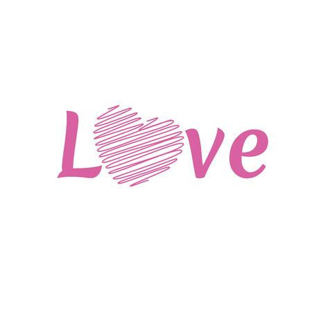 day saint valentin: LOVE Happy Valentines day , font type