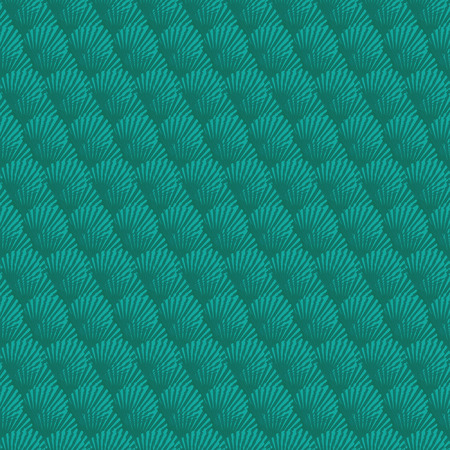 seamless pattern with the seashells Vector