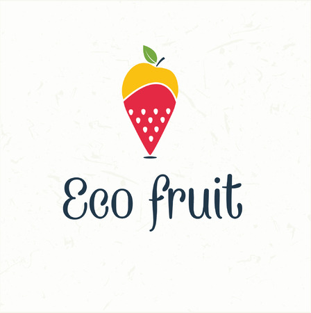 map pin: fruit map pin icon -eco fruit