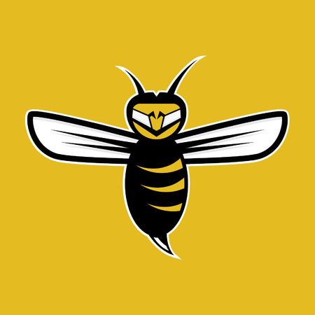 bee hive: agressive bee mascot