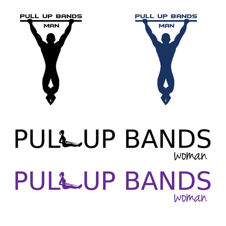 pull up bands illustration Vector