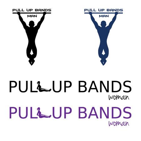 pull up bands illustration