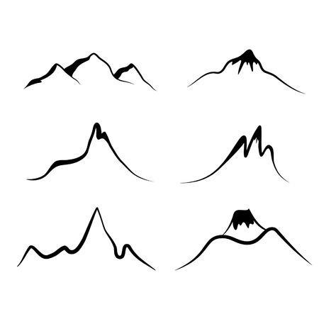set of mountains