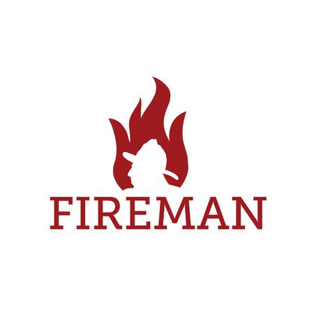 hose: fereman en llamas Vectores