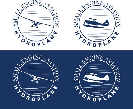 hydroplane: emblem of hydroplane