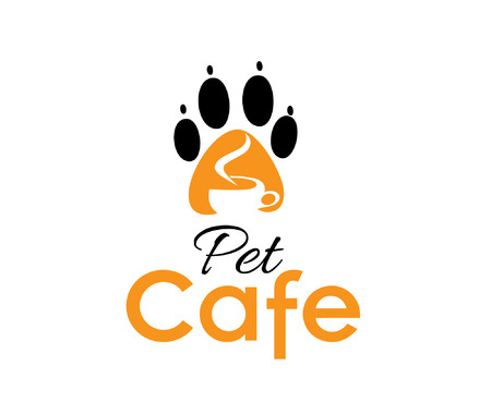 illustration of pet cafe Vector