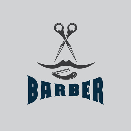 barber illustration Vector