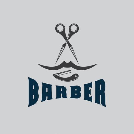 hairdresser's parlor: barber illustration Illustration