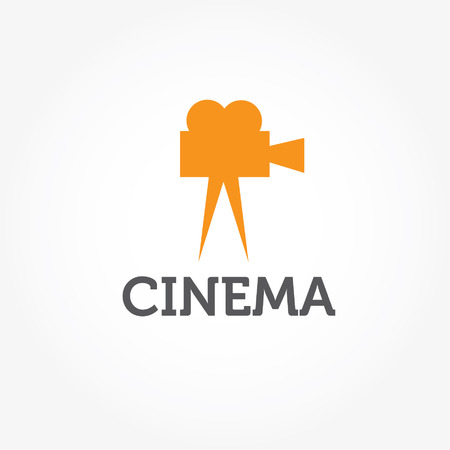 film camera vector design template Vector