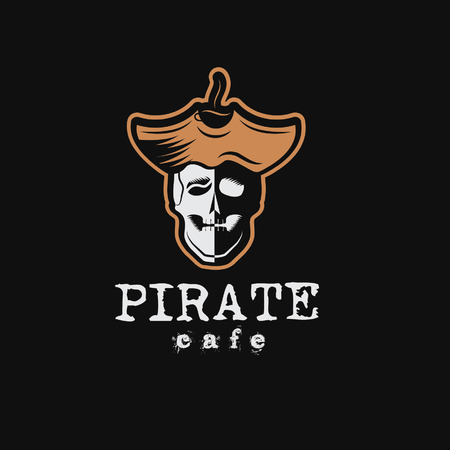 mortal: pirate cafe illustration