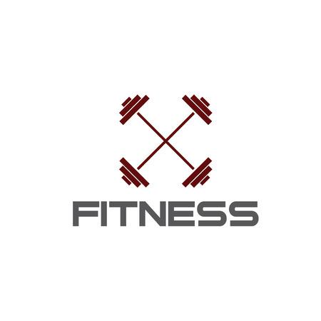 crossbar: barbell fitness illustration