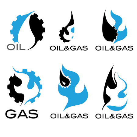 oil and gas industry: oil and gas industry iillustration Illustration