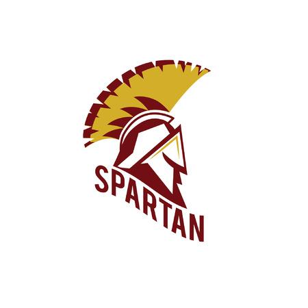 warrior: Old Vintage Antiques Spartan warrior vector design template