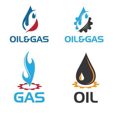 oil and gas industry: oil and gas industry iillustration Illustration