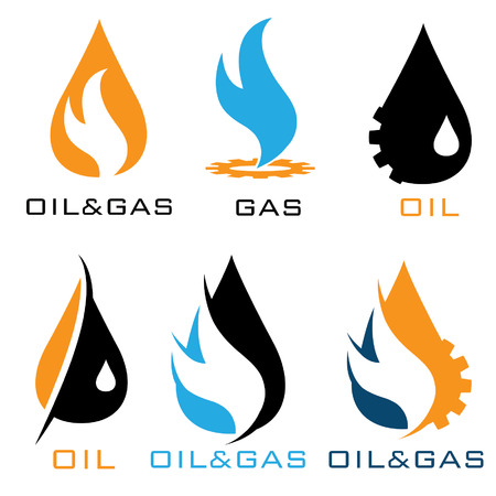 oil and gas industry iillustration Illustration