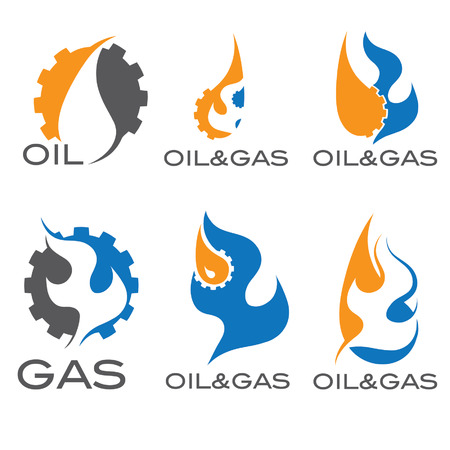 oil and gas industry iillustration