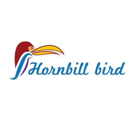 catoon: catoon hornbill bird