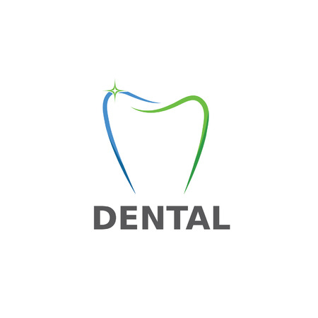 dental vector design template Stock fotó - 31860307