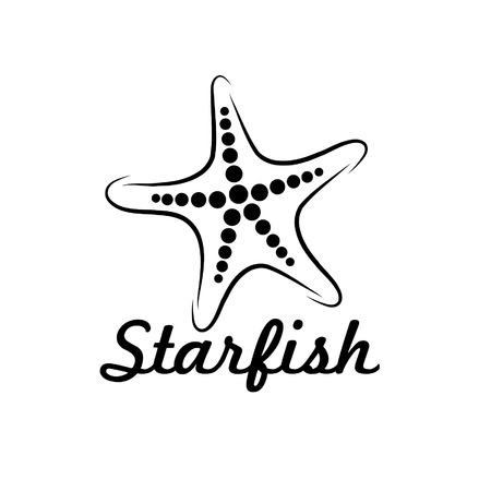 starfish vector design template Vector