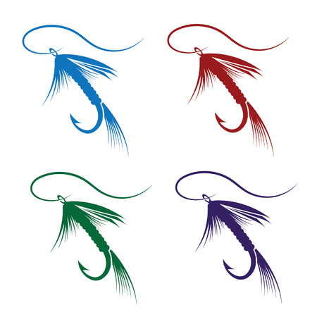 set of Fly fishing lure