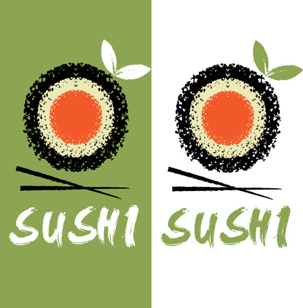 sushi vector design template