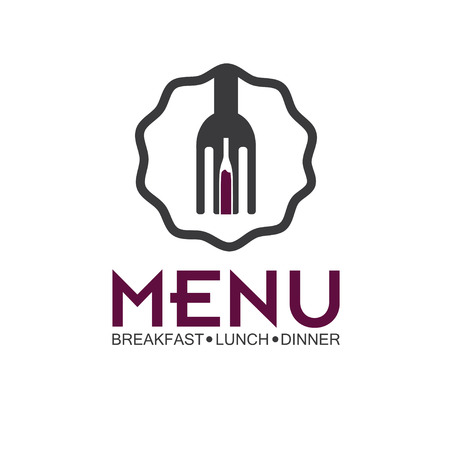 Restaurant menu vector design template Vector