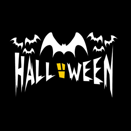 vlad: halloween illustration with bats