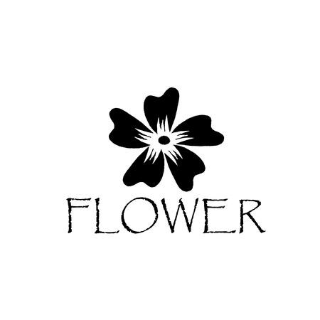 hibiscus abstract flower Vector