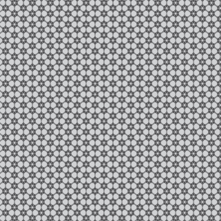 Illustration of abstract geometric seamless pattern. Vector Vector