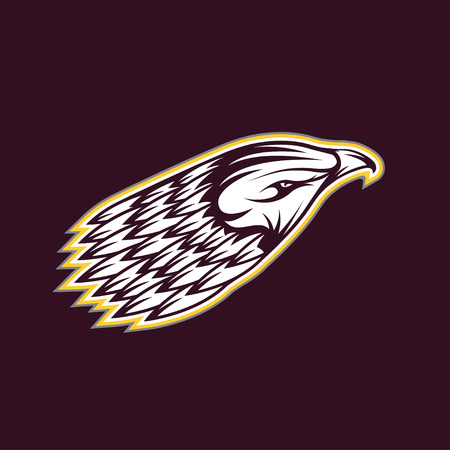 tending: eagle head vector design template Illustration