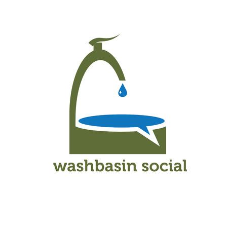 washbasin: washbasin social concept