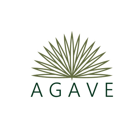 agave: vector agave plantilla de diseño Vectores